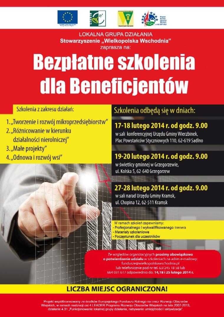 plakat_WW_szkoleniadlabeneficjentow