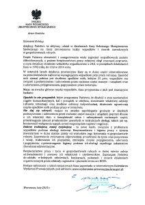 List prezesa 2015 skan najlepszy