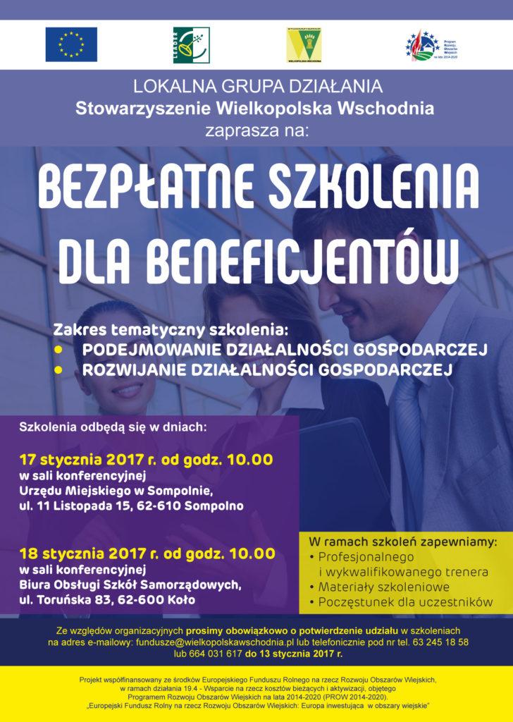 Szkolenia dla przesiębiorców stowarzyszenie Wilekopolska Wschodnia