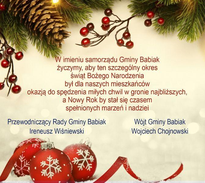 Zyczenia Świąteczne