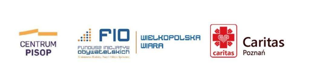logo FIO, Caritac oraz Centrum PISOP