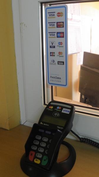 Płatnności kartą First Data Polcard