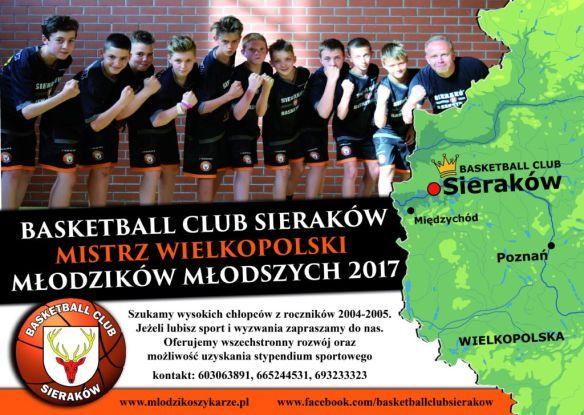 Basketball Club Sieraków.