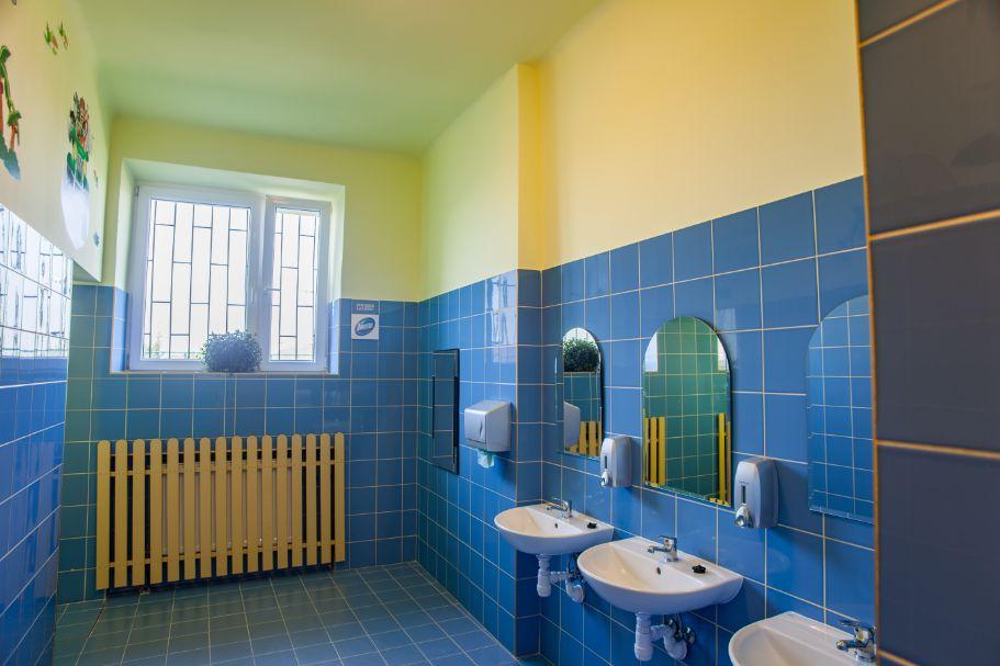 Szkola_Podstawowa_nr_1_w_Losicach wyremontowana łazienka