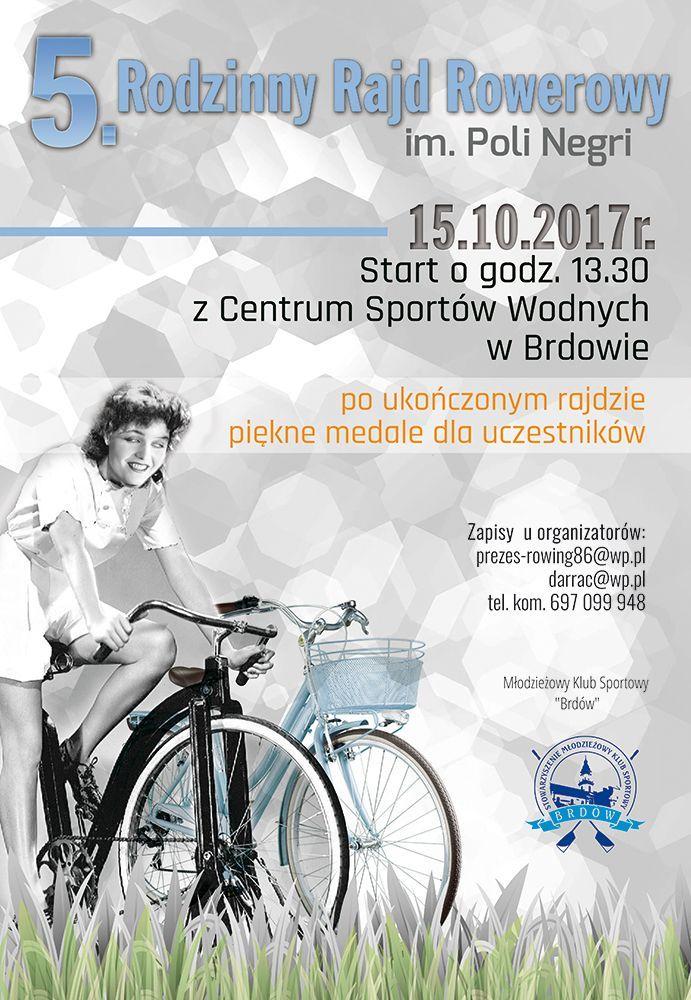 % rodzinny rajd rowerowy zorganizowany przez towarzystwo przyjaciół ziemi brdowskiej, 15.10.2017  godz. 13.30 start centrum sportów wodnych w brdowie.