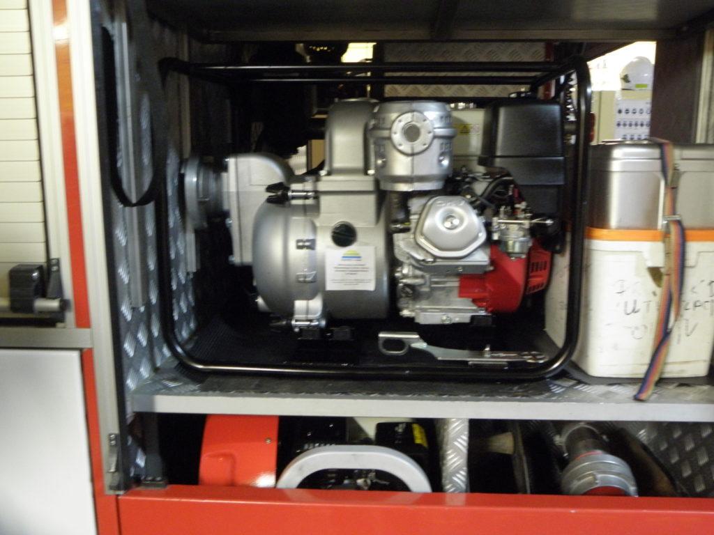 Pompa dużej wydajności do wody zanieczyszczonej