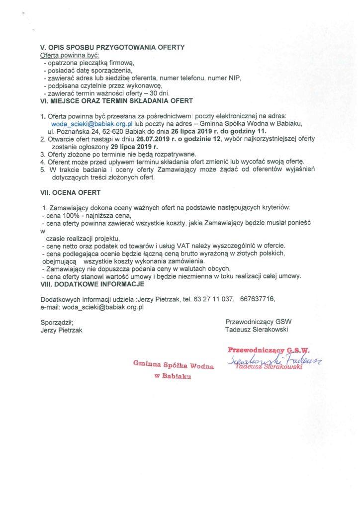 Zapytanie konserwacja rowów spółka wodna str 2 więcej informacji 632711071