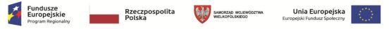 """""""Wzrost liczby miejsc wychowania przedszkolnego w Gminie Babiak"""" współfinansowanego przez Unię Europejską ze środków Europejskiego Funduszu Społecznego w ramach Wielkopolskiego Regionalnego Programu Operacyjnego na lata 2014-2020"""